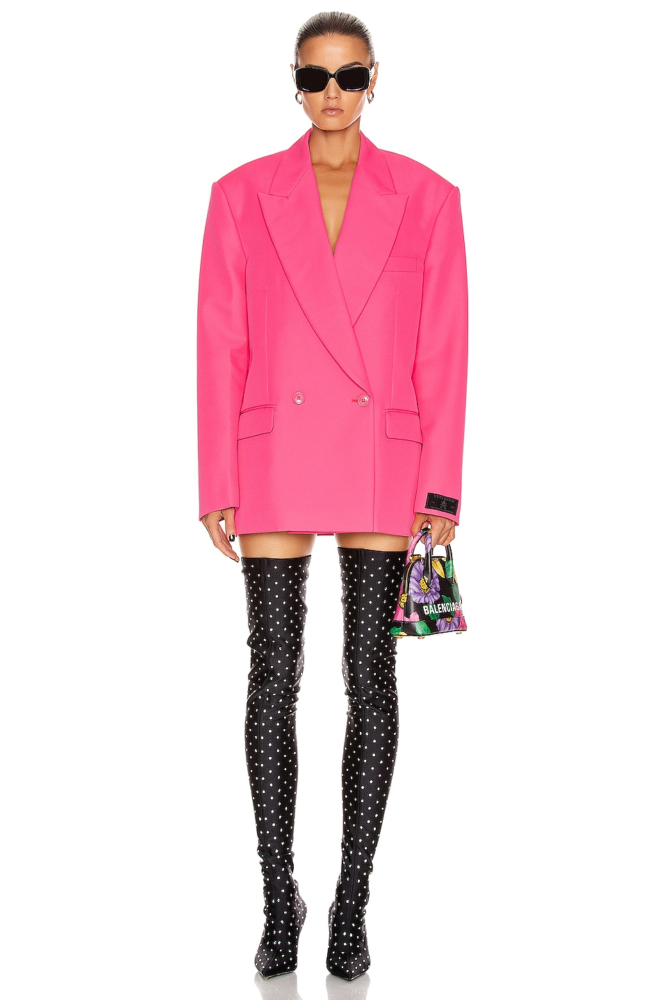 Image 1 of VETEMENTS Tailored Jacket in Fluo Pink