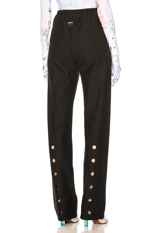 Image 1 of VETEMENTS High Heel Sweatpants in Black