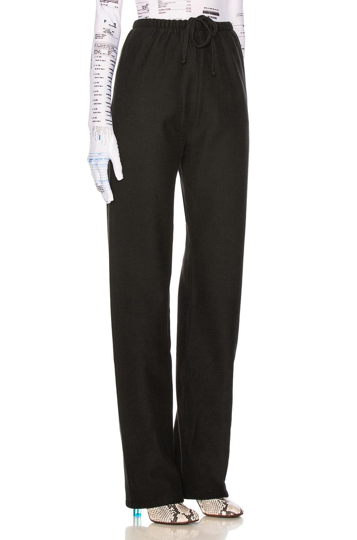 Image 3 of VETEMENTS High Heel Sweatpants in Black