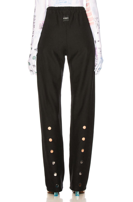 Image 4 of VETEMENTS High Heel Sweatpants in Black