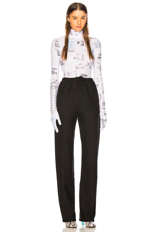 Image 5 of VETEMENTS High Heel Sweatpants in Black