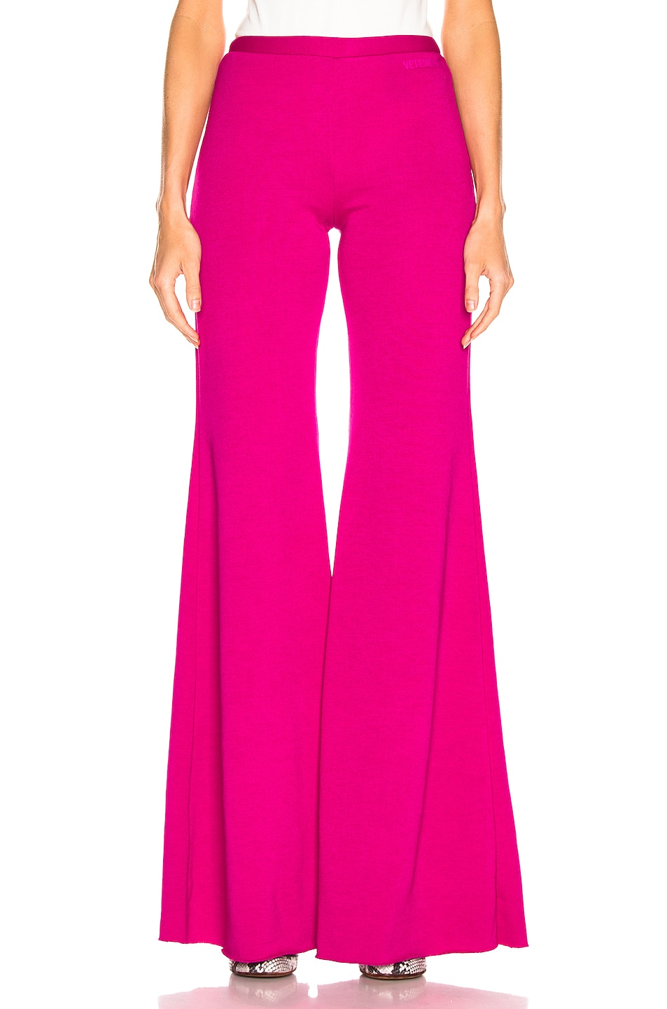 Image 1 of VETEMENTS Evening Jogging Pant in Fuchsia