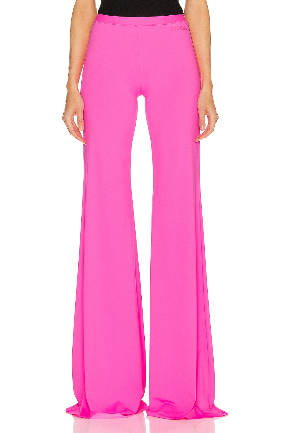 Image 1 of VETEMENTS Evening Bootcut Pant in Fluo Pink