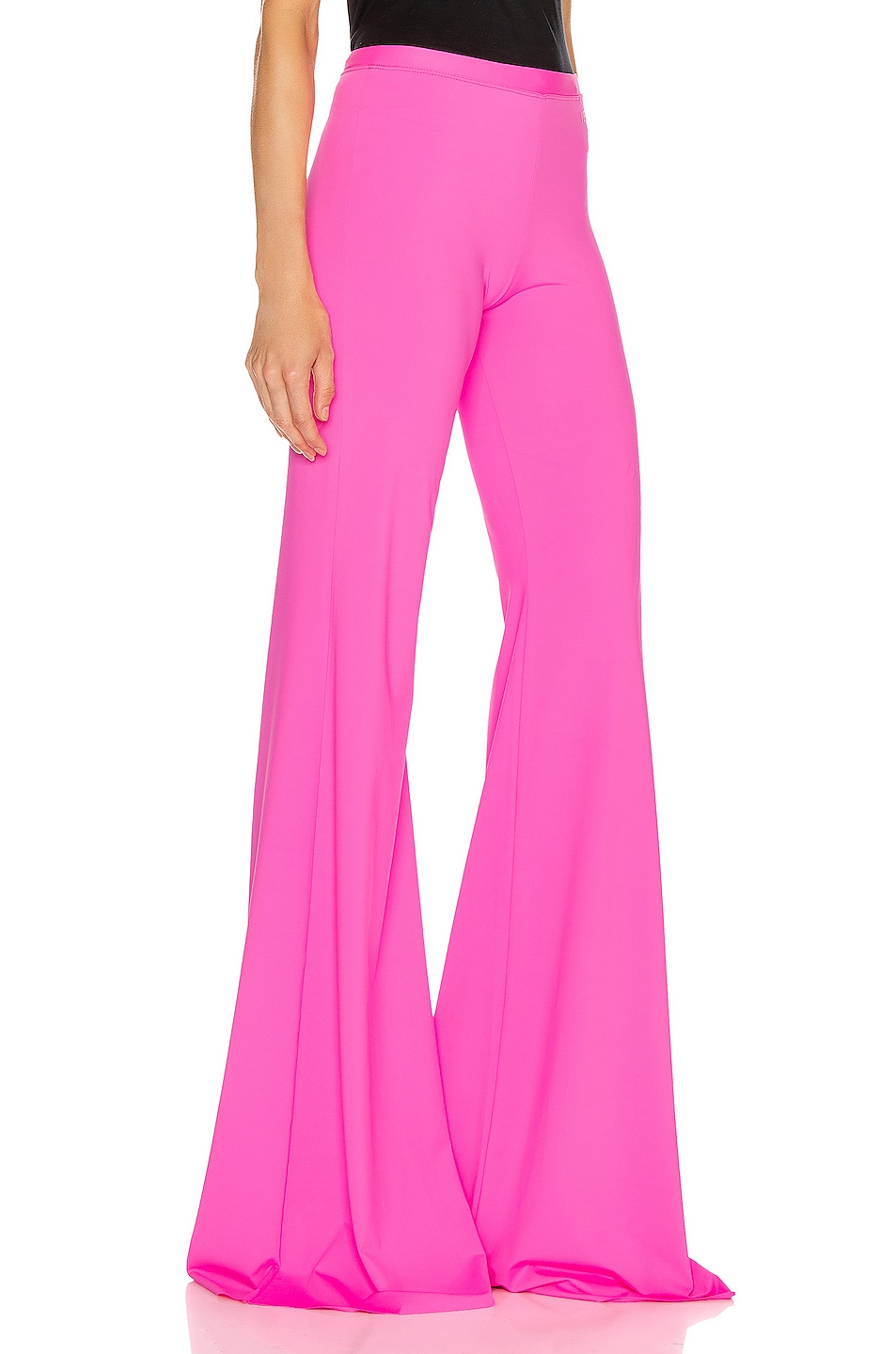Image 2 of VETEMENTS Evening Bootcut Pant in Fluo Pink