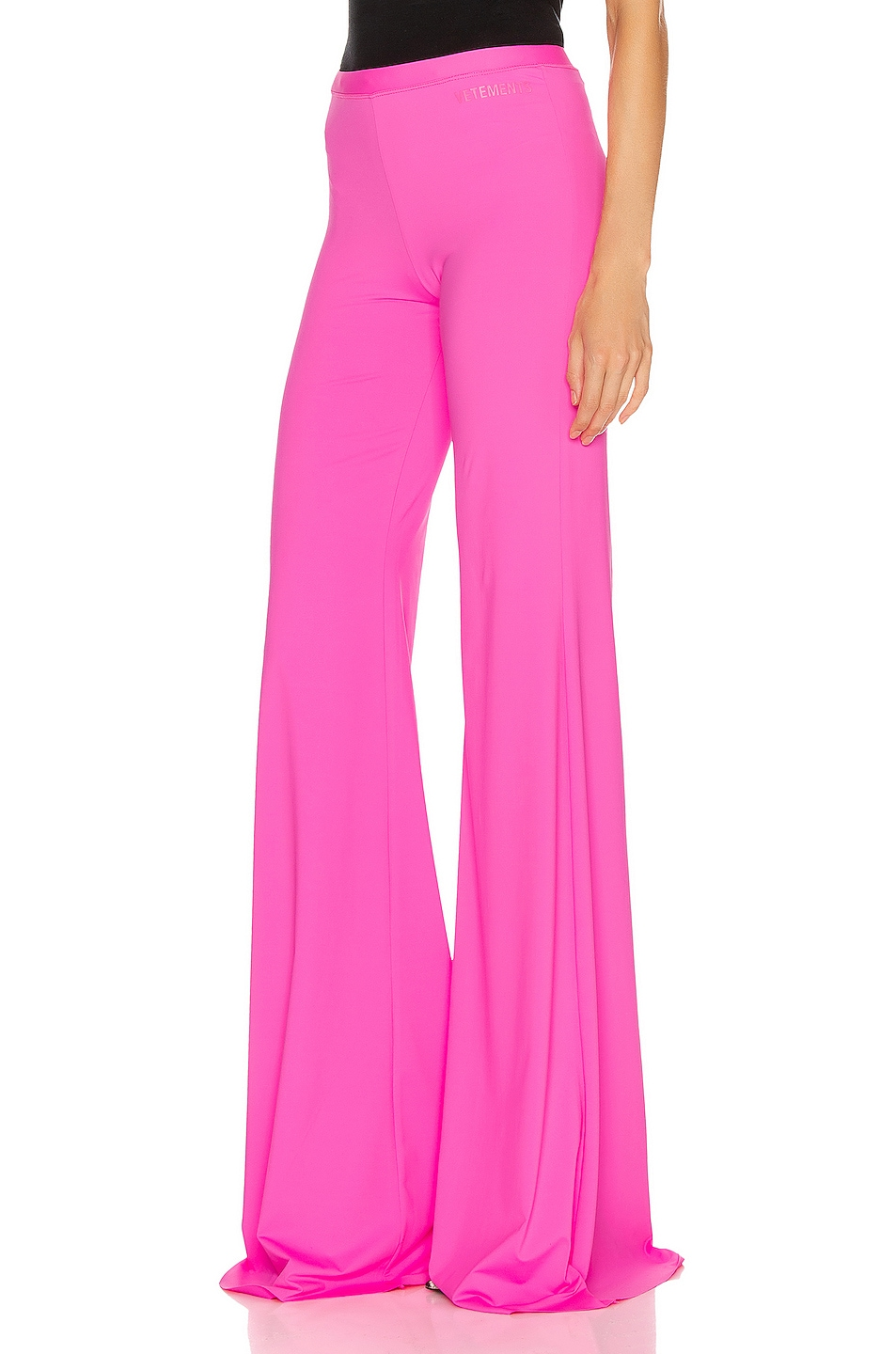 Image 3 of VETEMENTS Evening Bootcut Pant in Fluo Pink