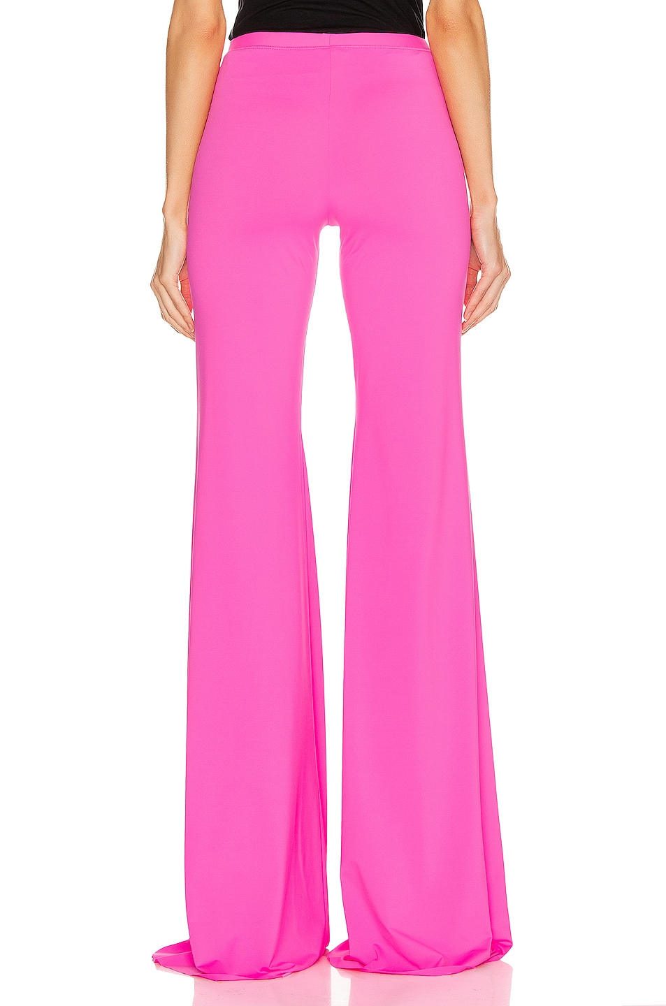 Image 4 of VETEMENTS Evening Bootcut Pant in Fluo Pink