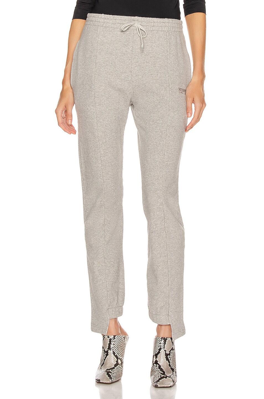Image 1 of VETEMENTS Cut Up Sweatpant in Grey Melange