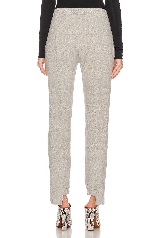 Image 4 of VETEMENTS Cut Up Sweatpant in Grey Melange