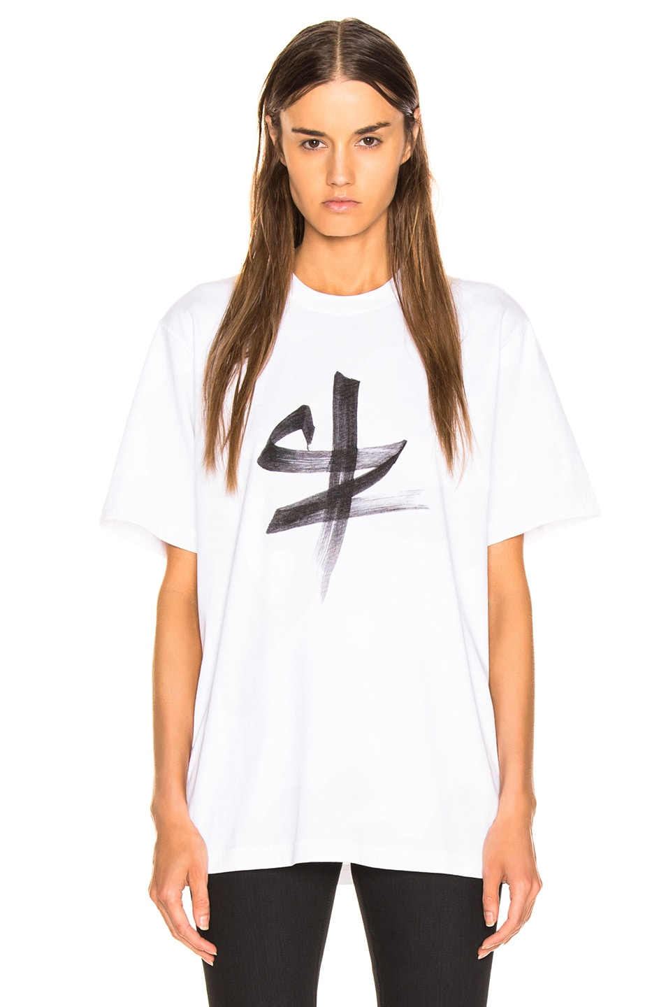Image 2 of VETEMENTS Ox Chinese Zodiac T Shirt in White