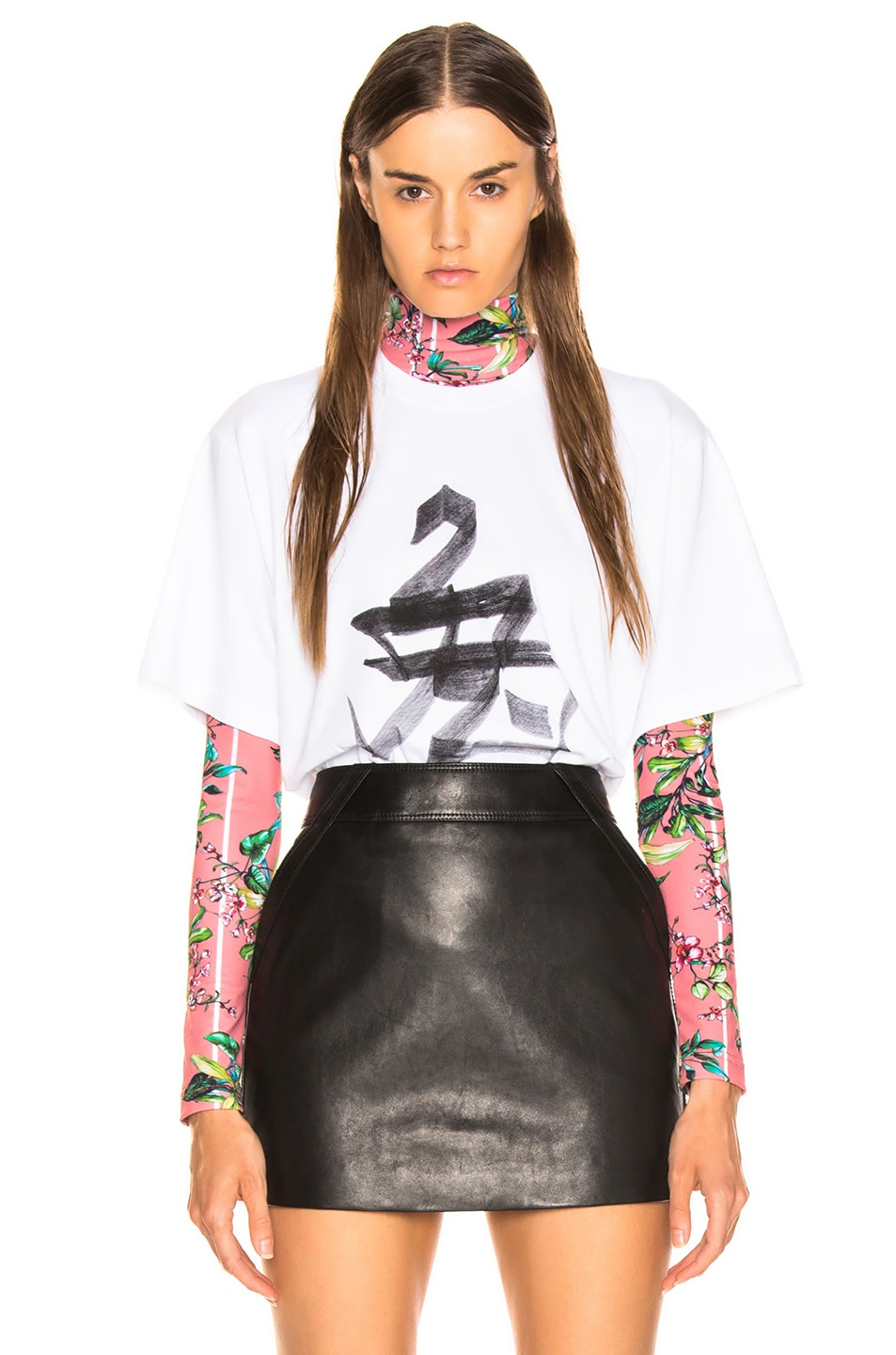 Image 1 of VETEMENTS Rabbit Chinese Zodiac T Shirt in White