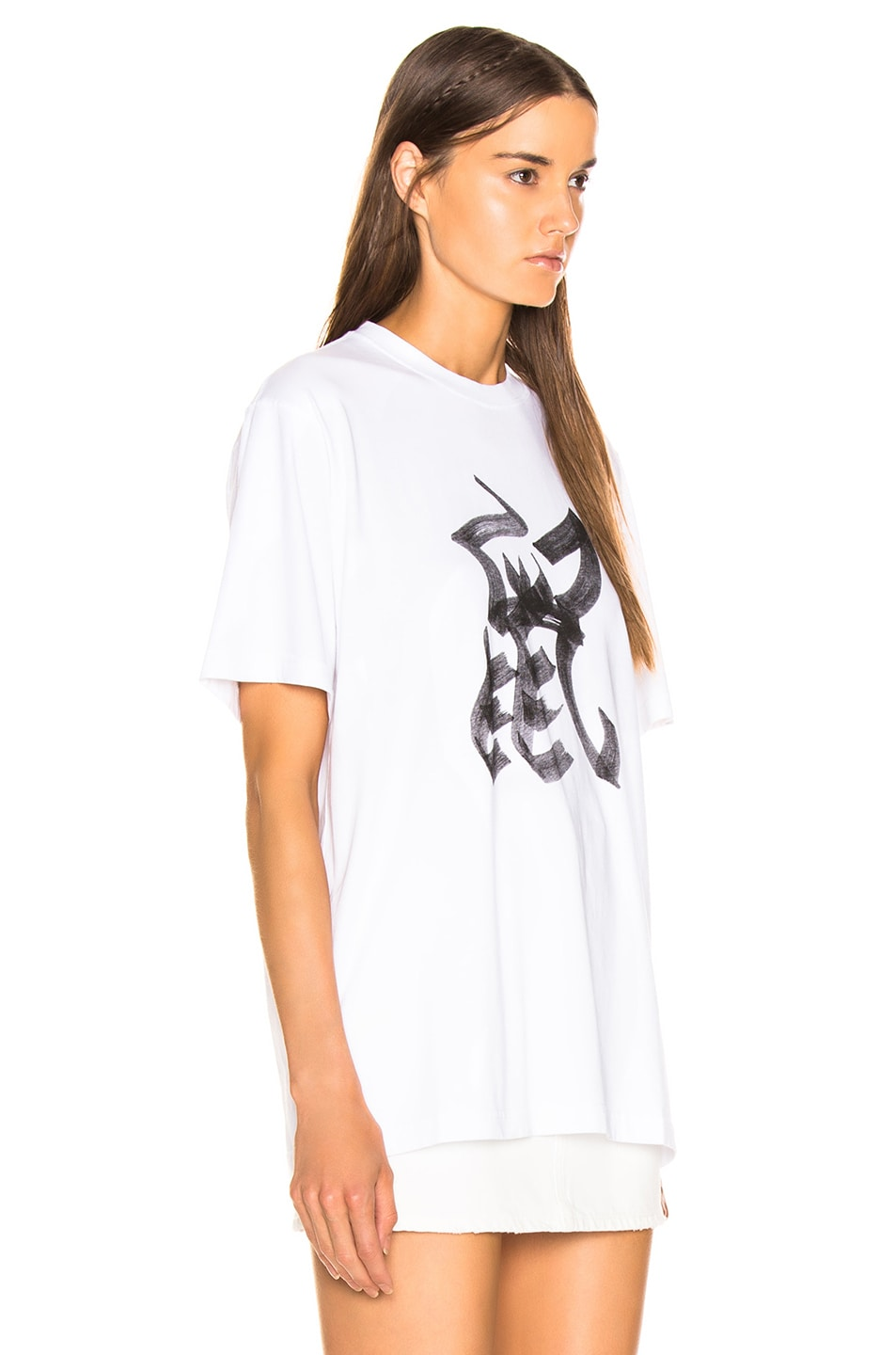 Image 3 of VETEMENTS Rat Chinese Zodiac T Shirt in White