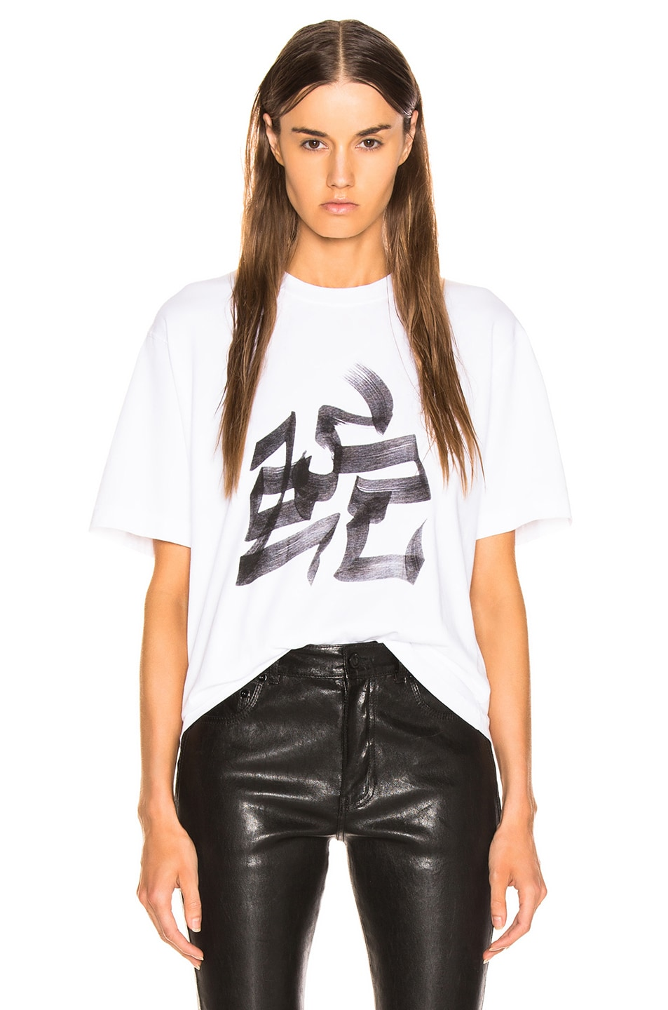 Image 1 of VETEMENTS Snake Chinese Zodiac T Shirt in White