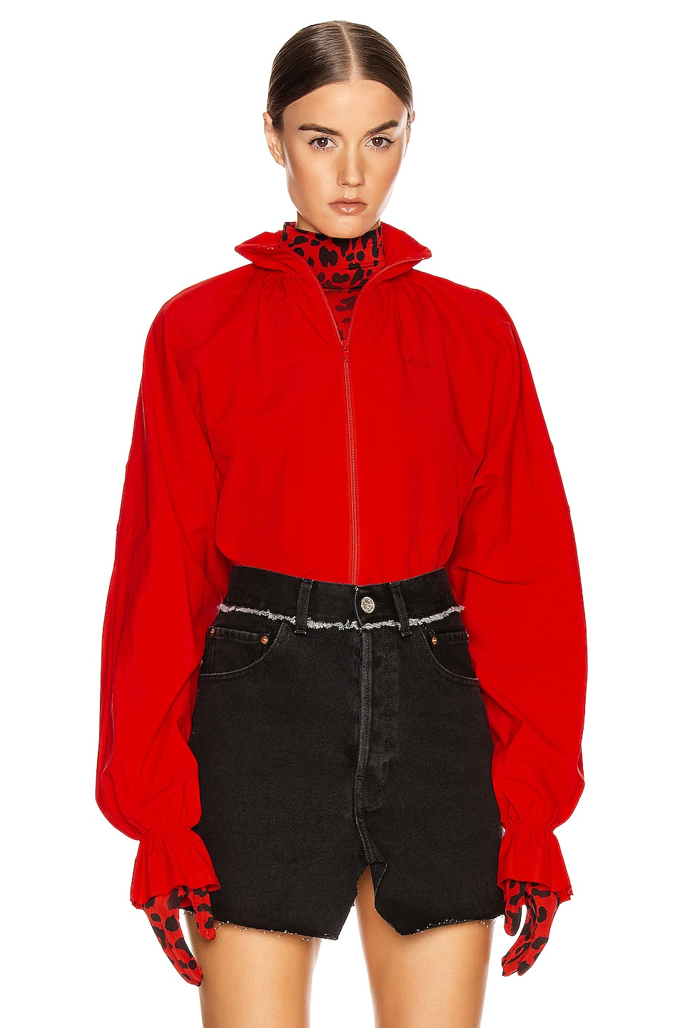 Image 1 of VETEMENTS Tracksuit Blouse in Red