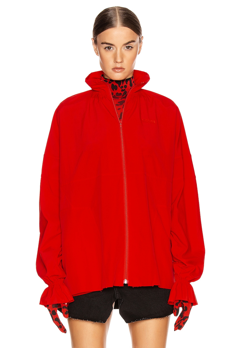 Image 3 of VETEMENTS Tracksuit Blouse in Red