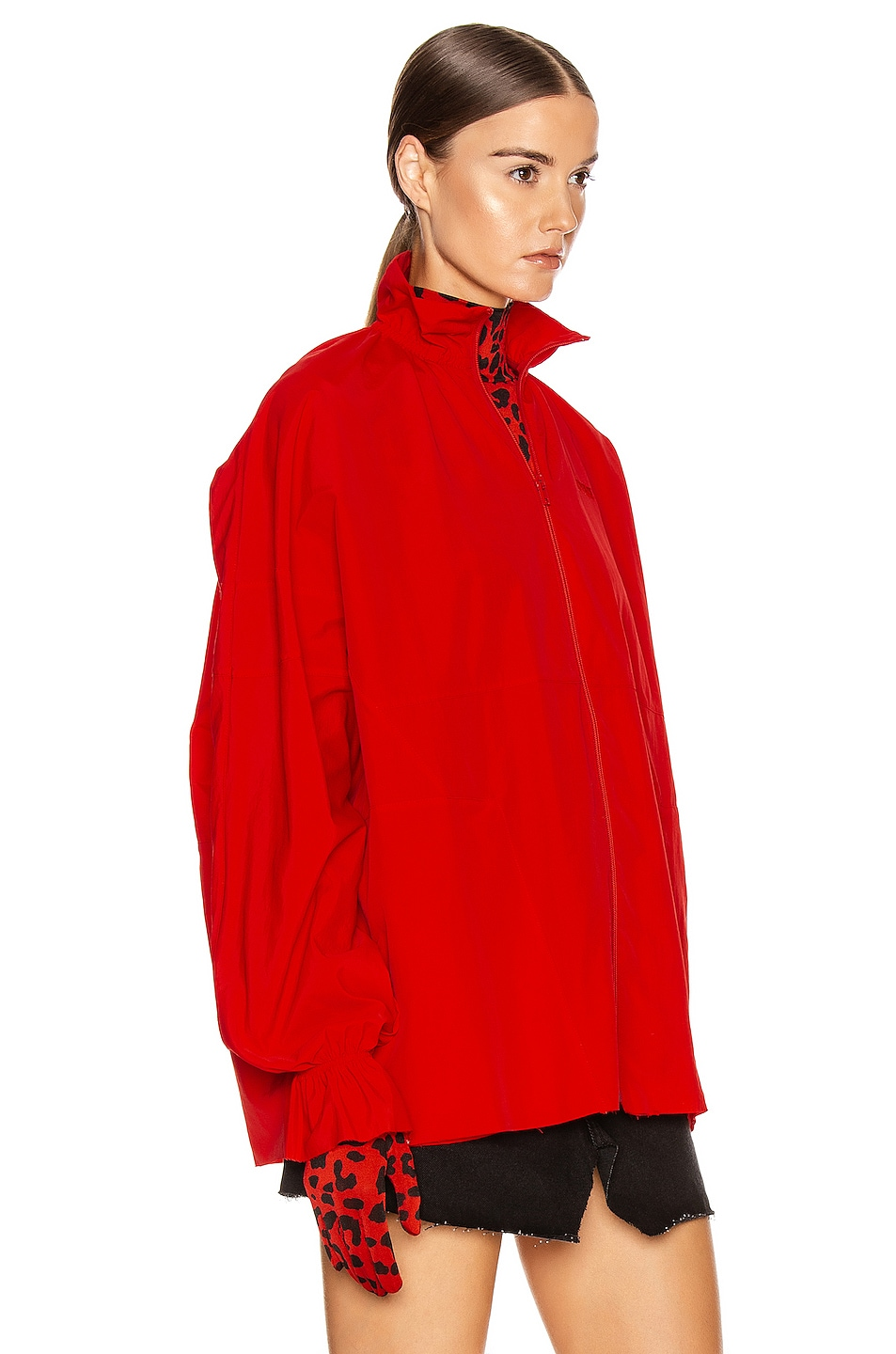 Image 4 of VETEMENTS Tracksuit Blouse in Red