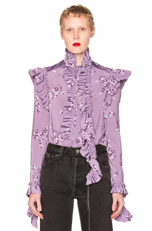 Inc Purple Blouse