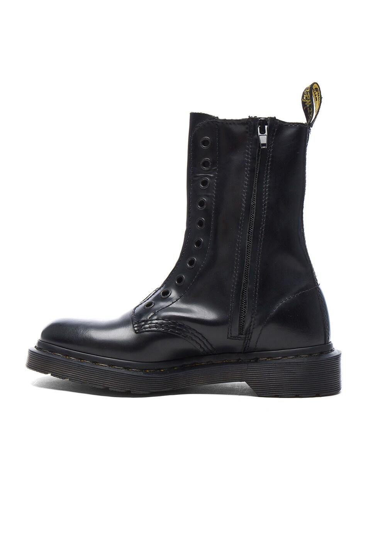 Image 5 of VETEMENTS x Dr. Martens Leather Borderline Boots in Black