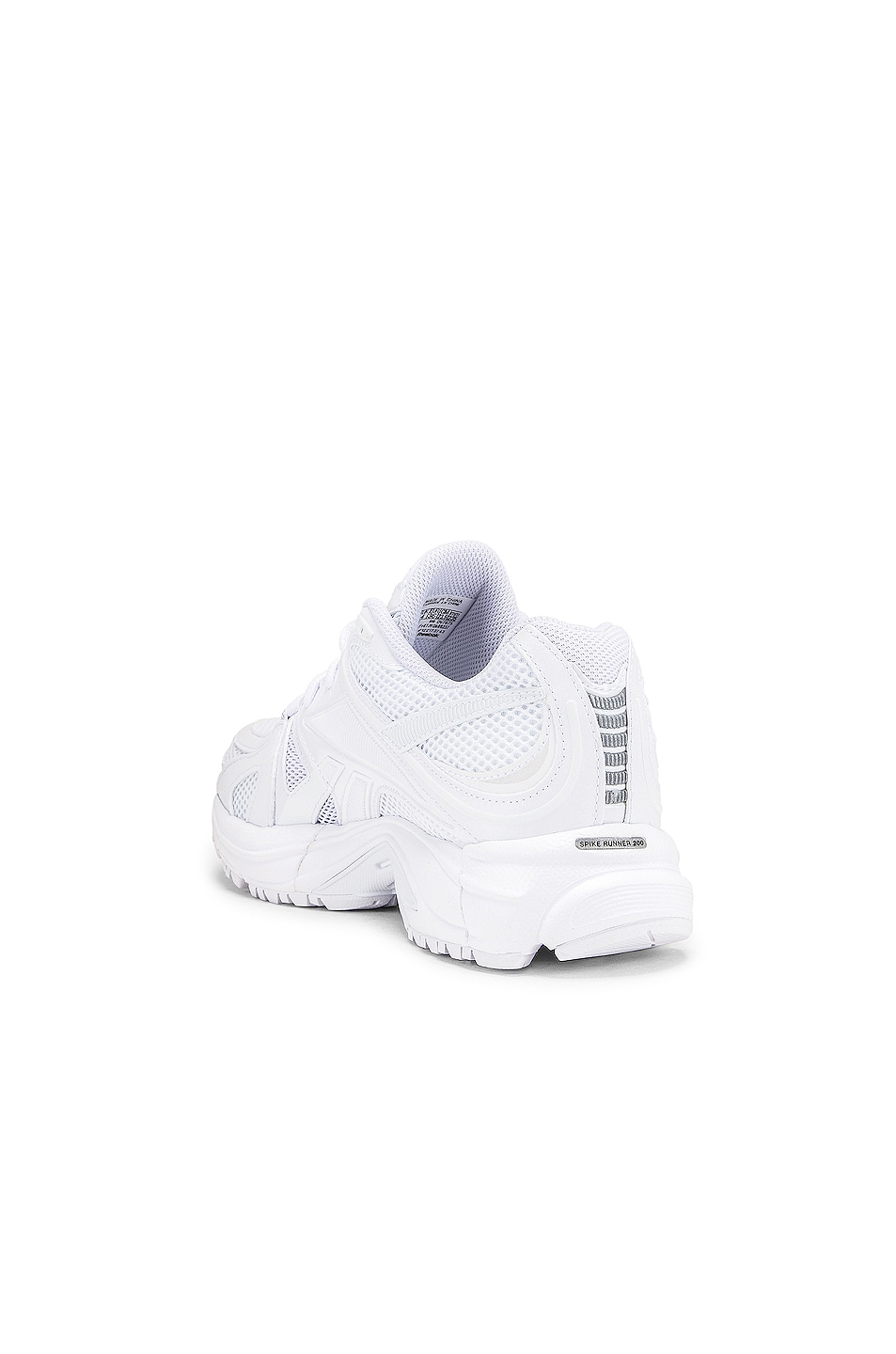 Image 3 of VETEMENTS Spike Runner 200 Sneakers in White