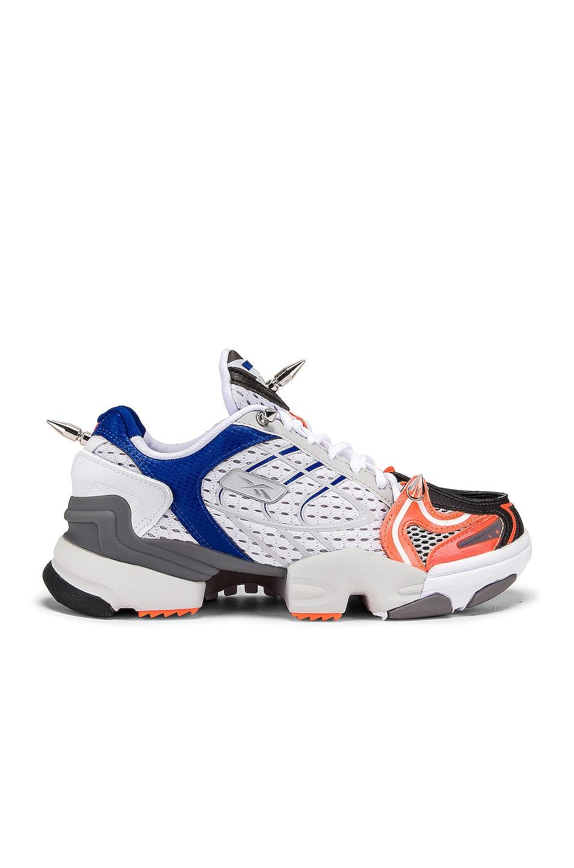 Image 1 of VETEMENTS Spike Runner 400 Sneakers in Fluo Orange