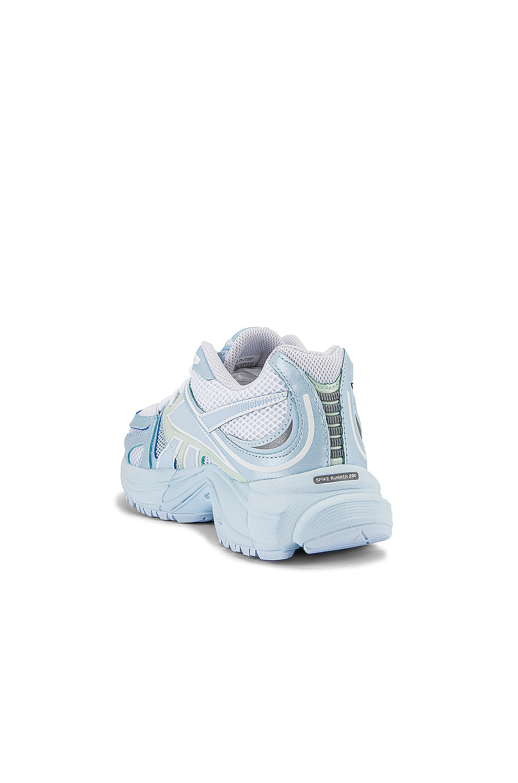 Image 3 of VETEMENTS Spike Runner 200 Sneakers in Pastel Blue