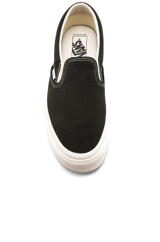 Image 4 of Vans Vault OG Classic Slip-Ons LX in Black