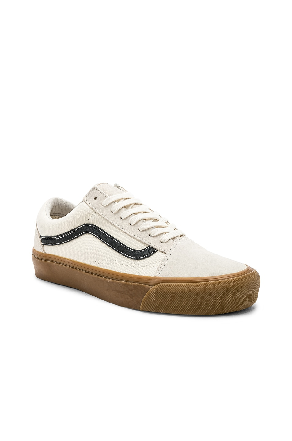 5c4192ae5e319f Image 1 of Vans Vault OG Old Skool LX in Marshmallow   Light Gum