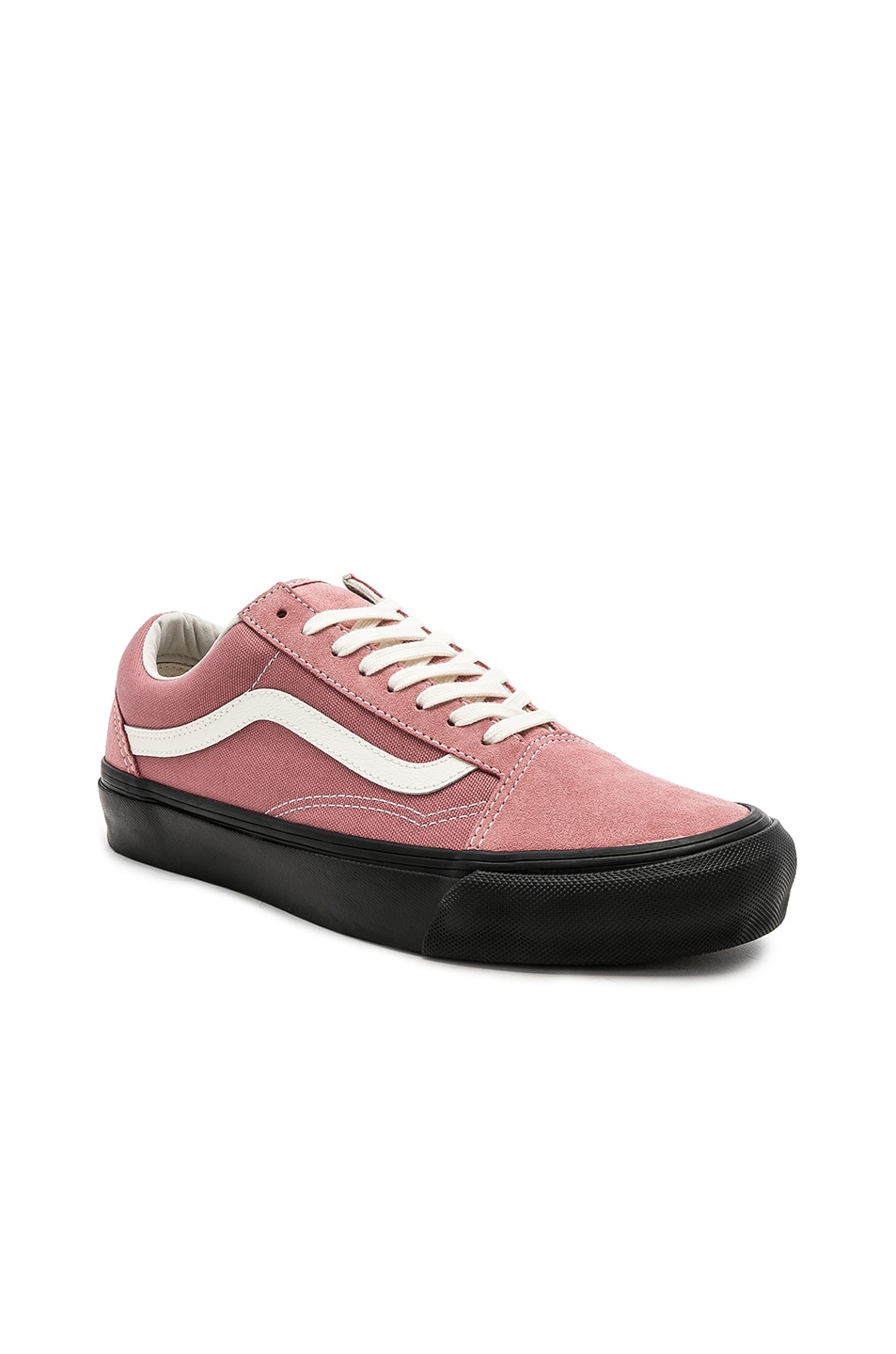 9ae3edbd0737 Image 1 of Vans Vault OG Old Skool LX in Ash Rose   Black