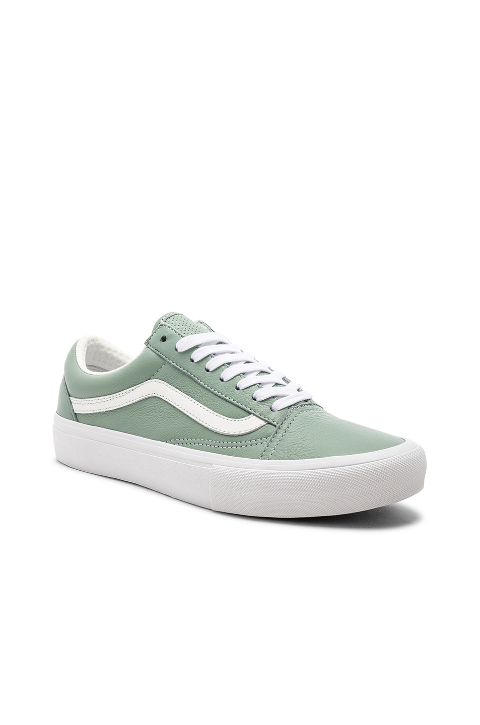 Image 2 of Vans Vault Italian Leather Old Skool VLT LX in Cielo 1a910dac7