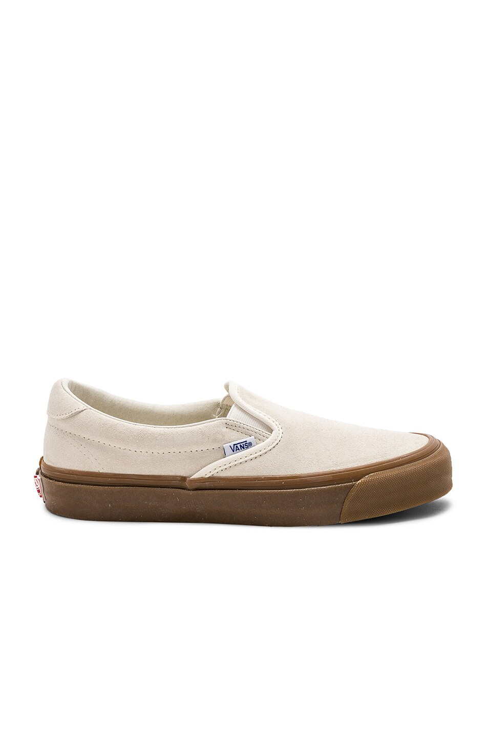 22c61bea3ff Image 2 of Vans Vault OG Slip-On 59 LX in Sugar Swizzle   Light