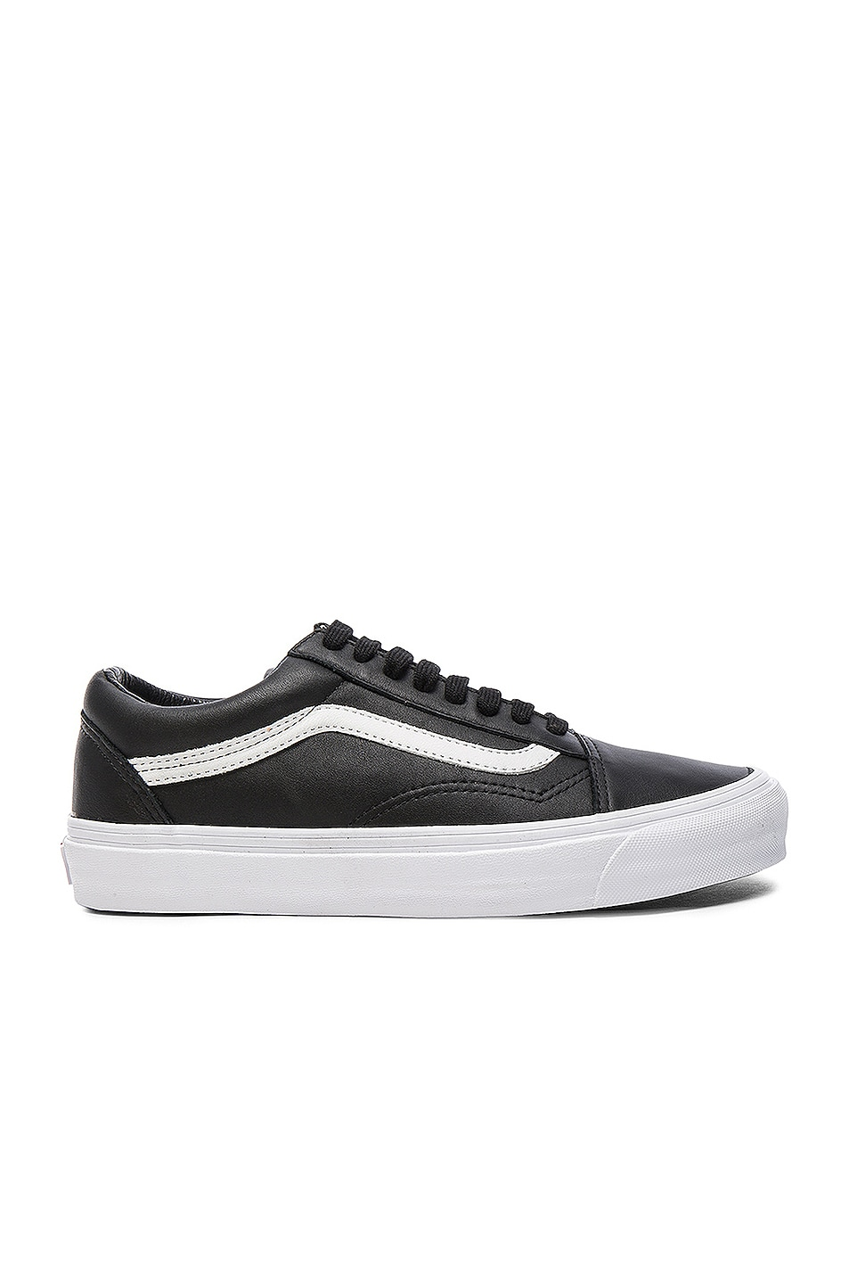 Image 1 of Vans Vault OG Leather Old Skool LX in Black