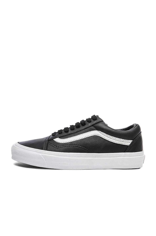 Image 5 of Vans Vault OG Leather Old Skool LX in Black