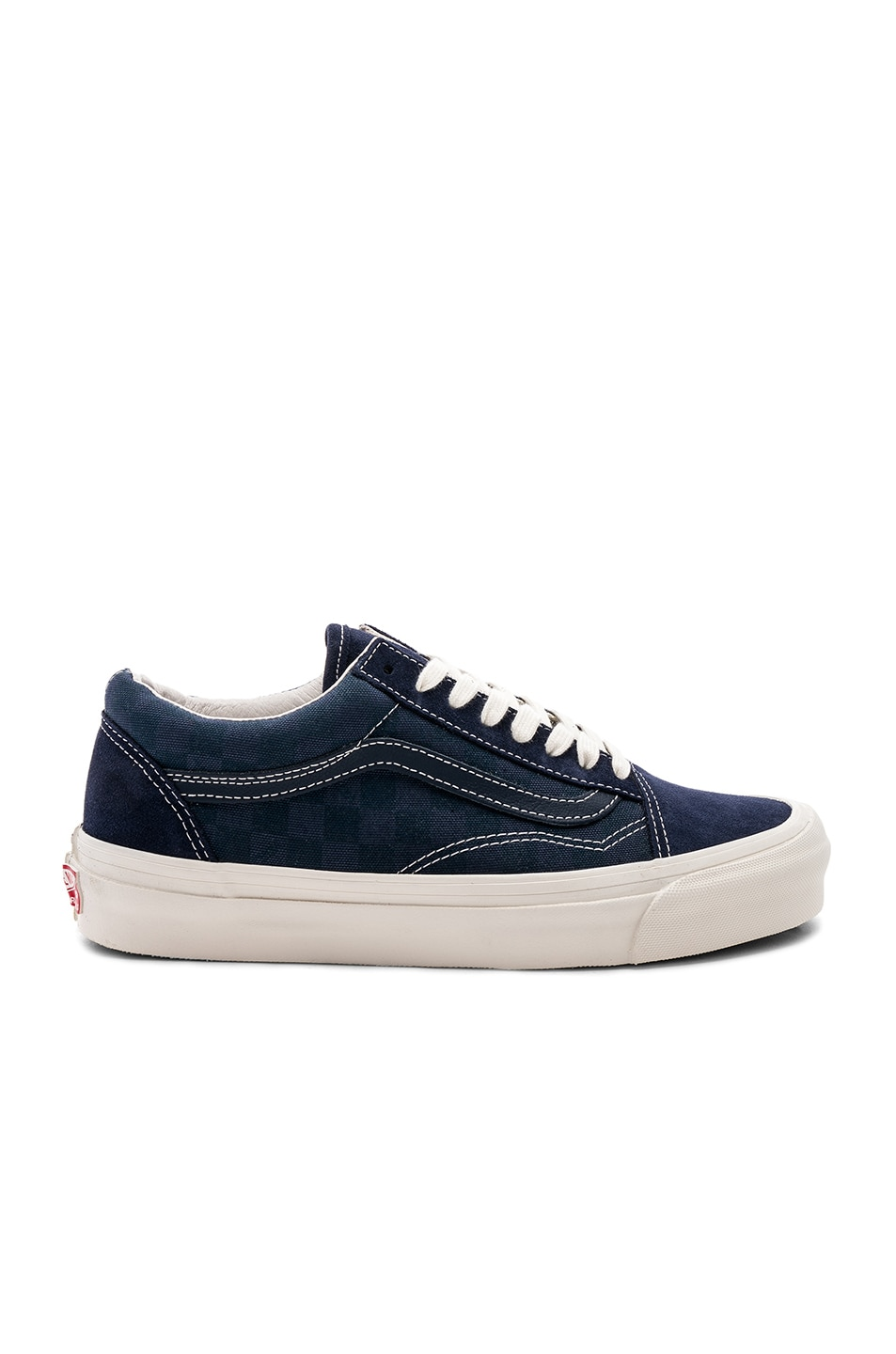 170c6e1c20 Image 1 of Vans Vault OG Old Skool LX in Checkerboard   Majolica Blue