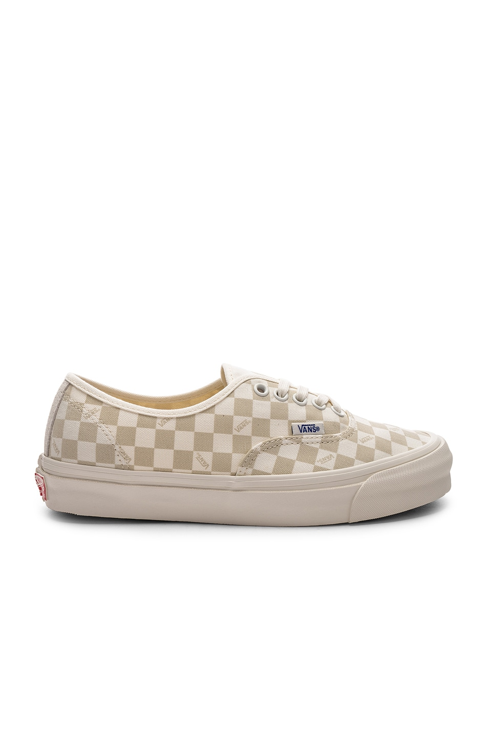 758cc790a6503e Image 1 of Vans Vault OG Authentic LX in Checkerboard   Marshmallow