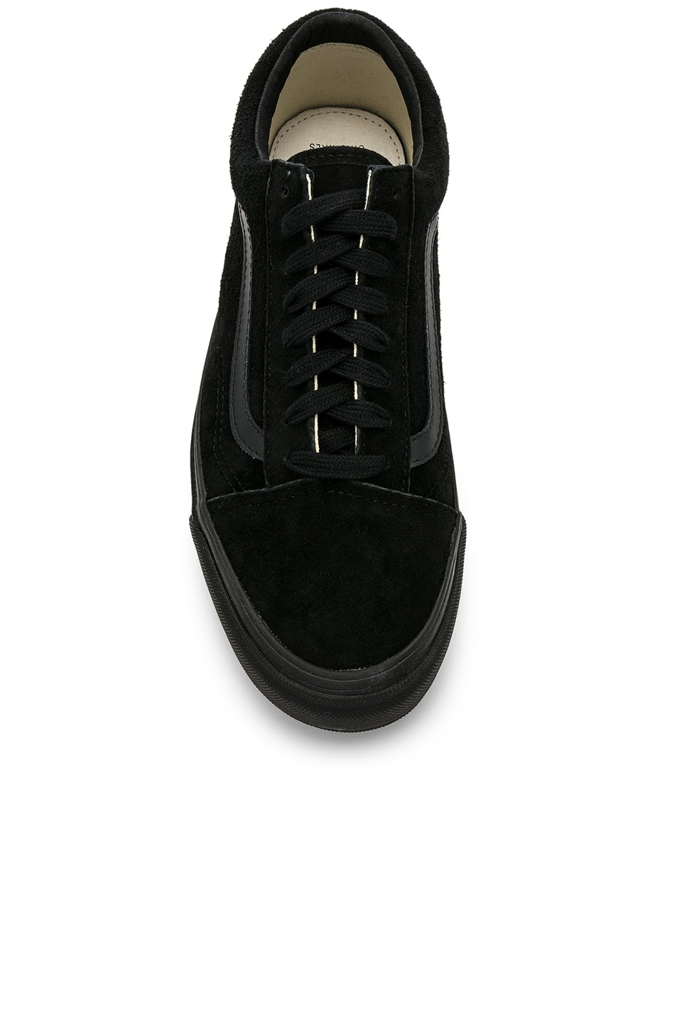 Image 4 of Vans Vault OG Old Skool LX in Black