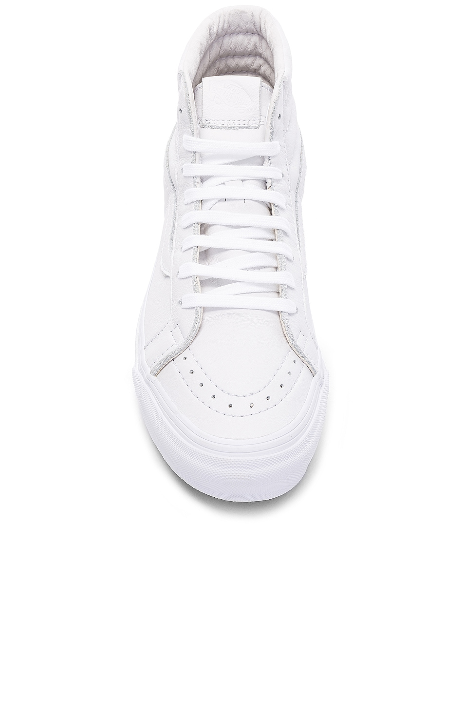 Image 4 of Vans Vault Leather OG SK8-HI LX in White