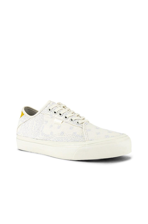 Image 1 of Vans Vault x Rhude Diamo Ni Sneaker in Bandana & Marshmallow & White