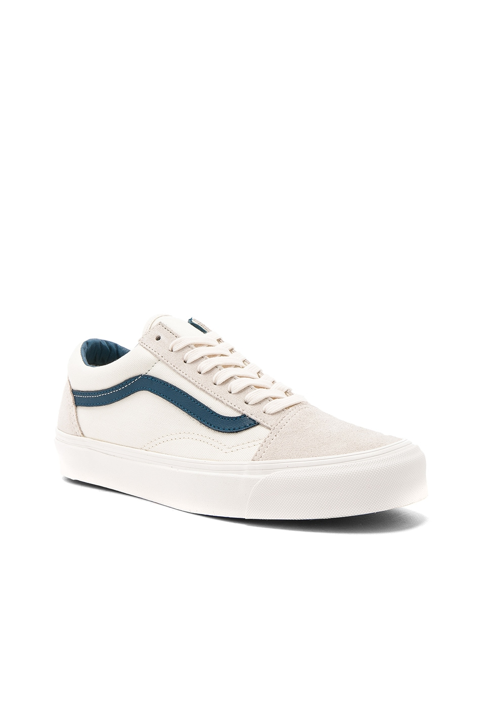 e109653237 Image 1 of Vans Vault Canvas OG Old Skool LX in Marshmallow
