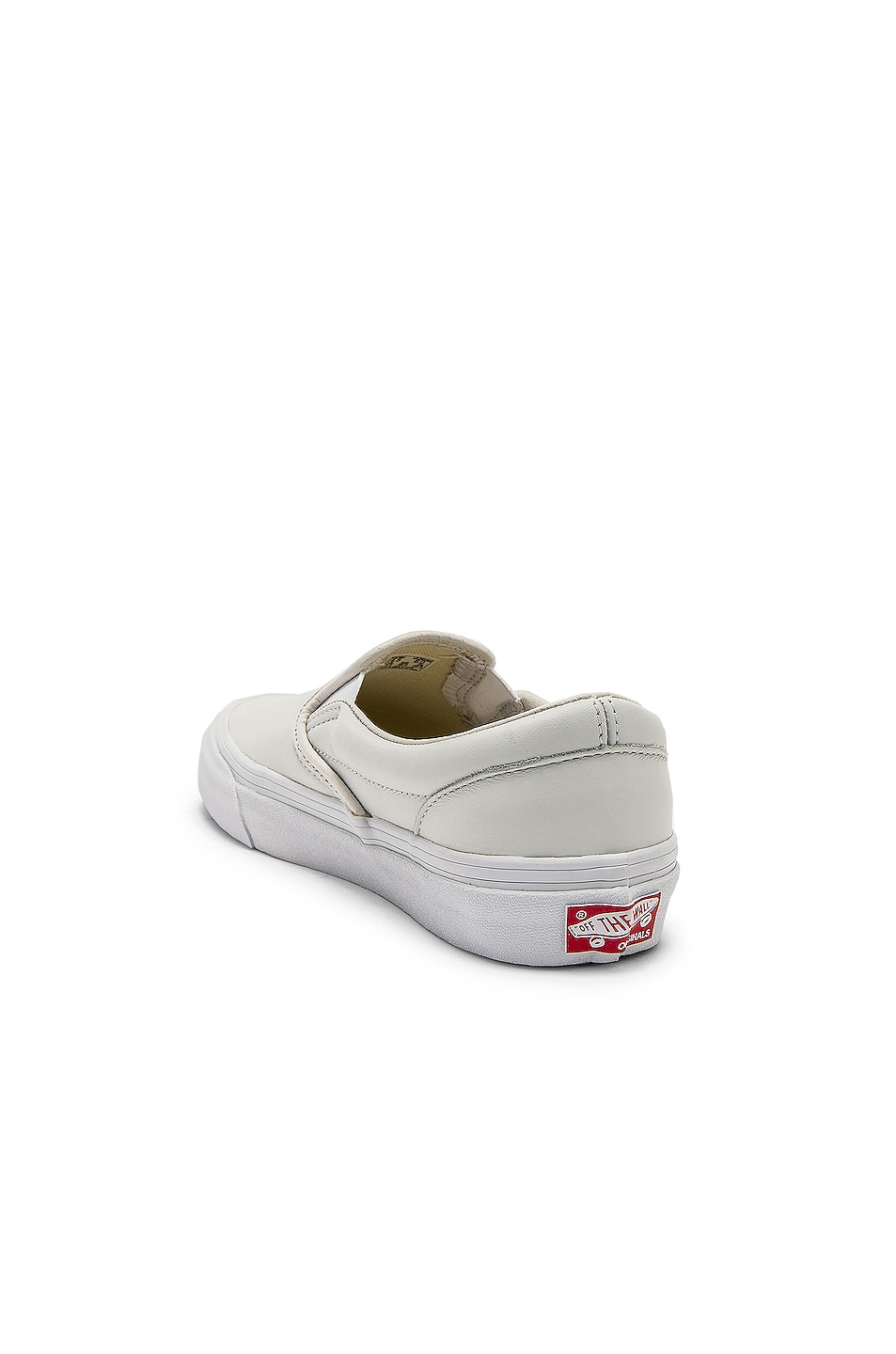 Image 3 of Vans Vault OG Classic Slip-On LX in White