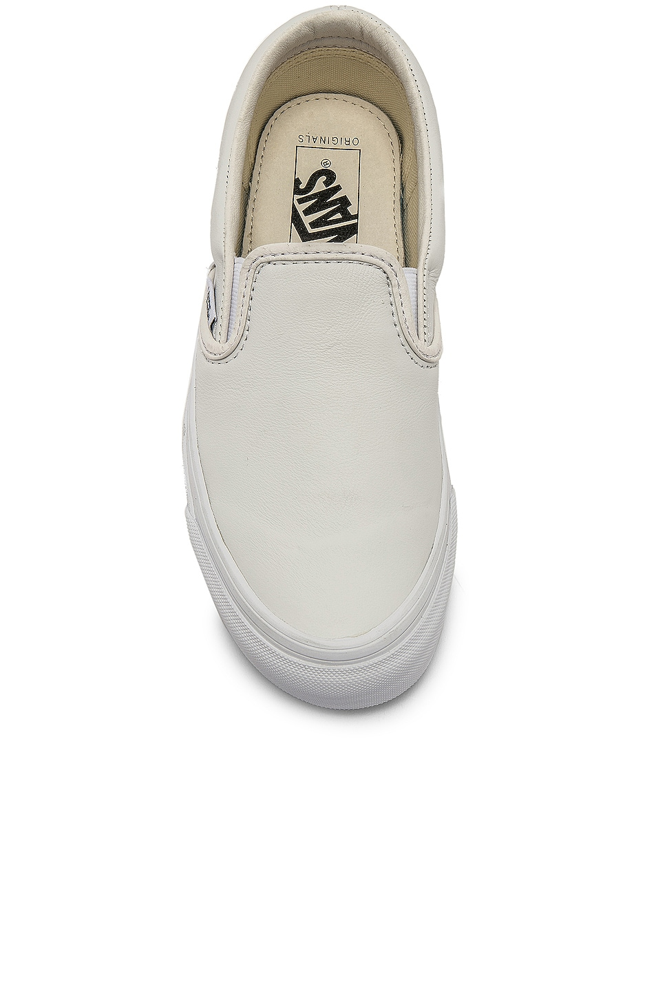 Image 4 of Vans Vault OG Classic Slip-On LX in White