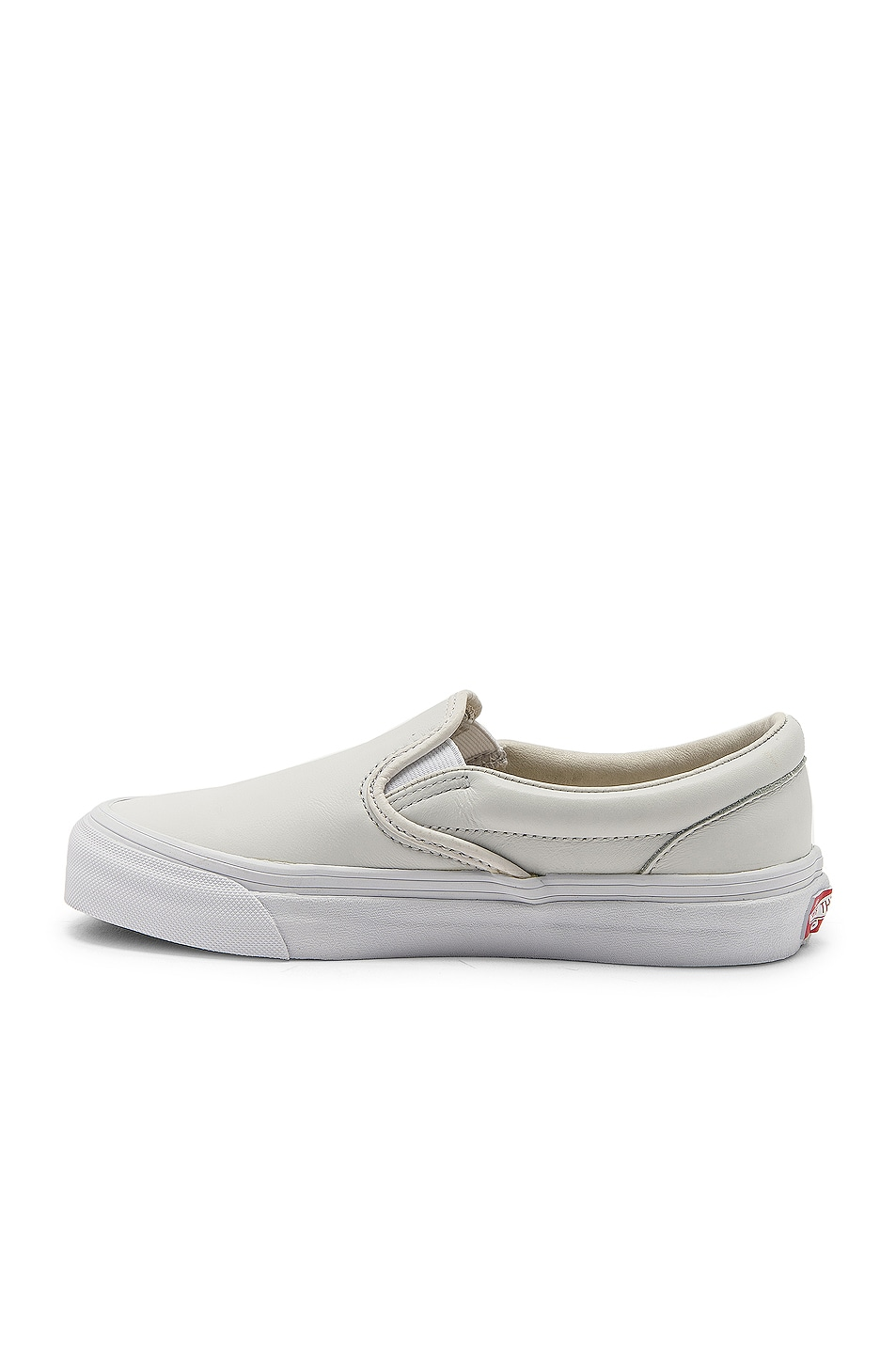 Image 5 of Vans Vault OG Classic Slip-On LX in White