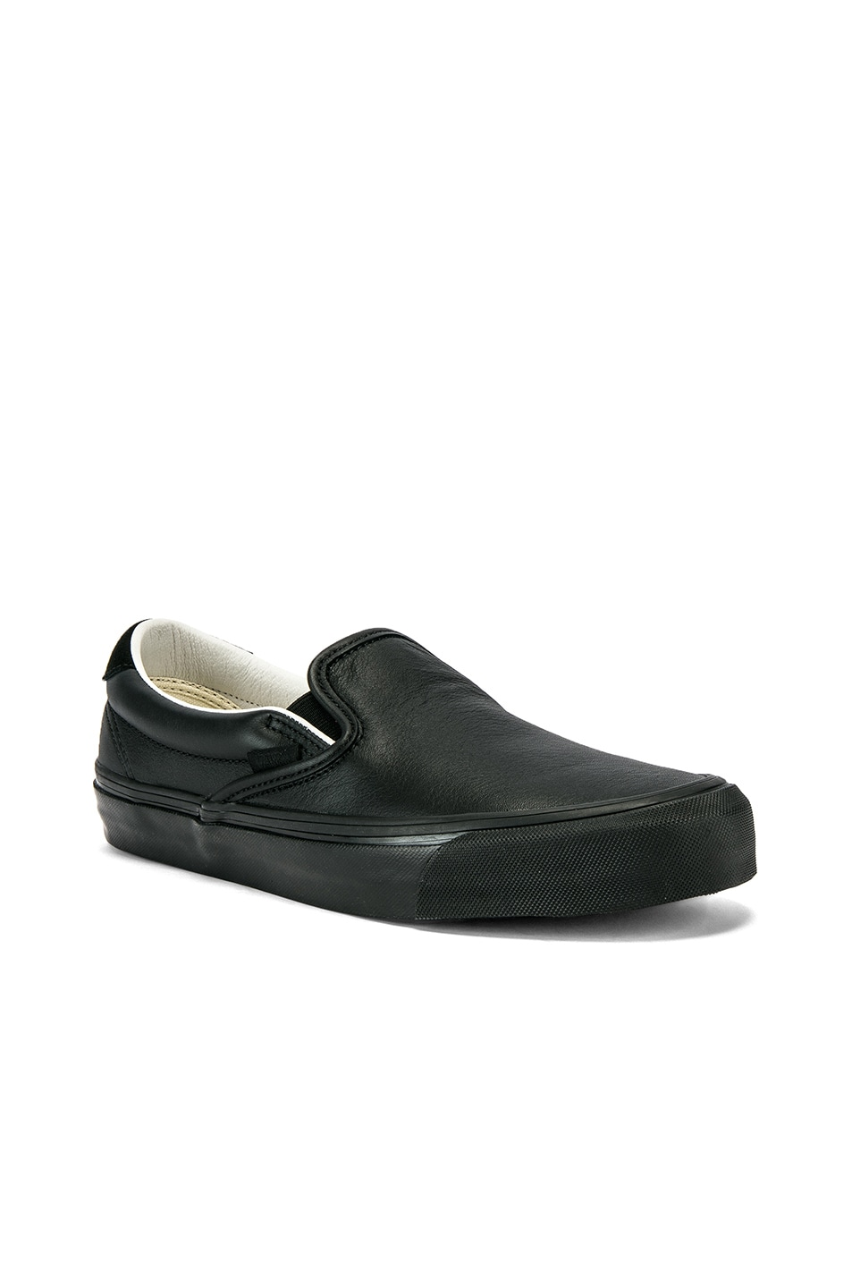Image 2 of Vans Vault OG Slip-On 59 LX in Black