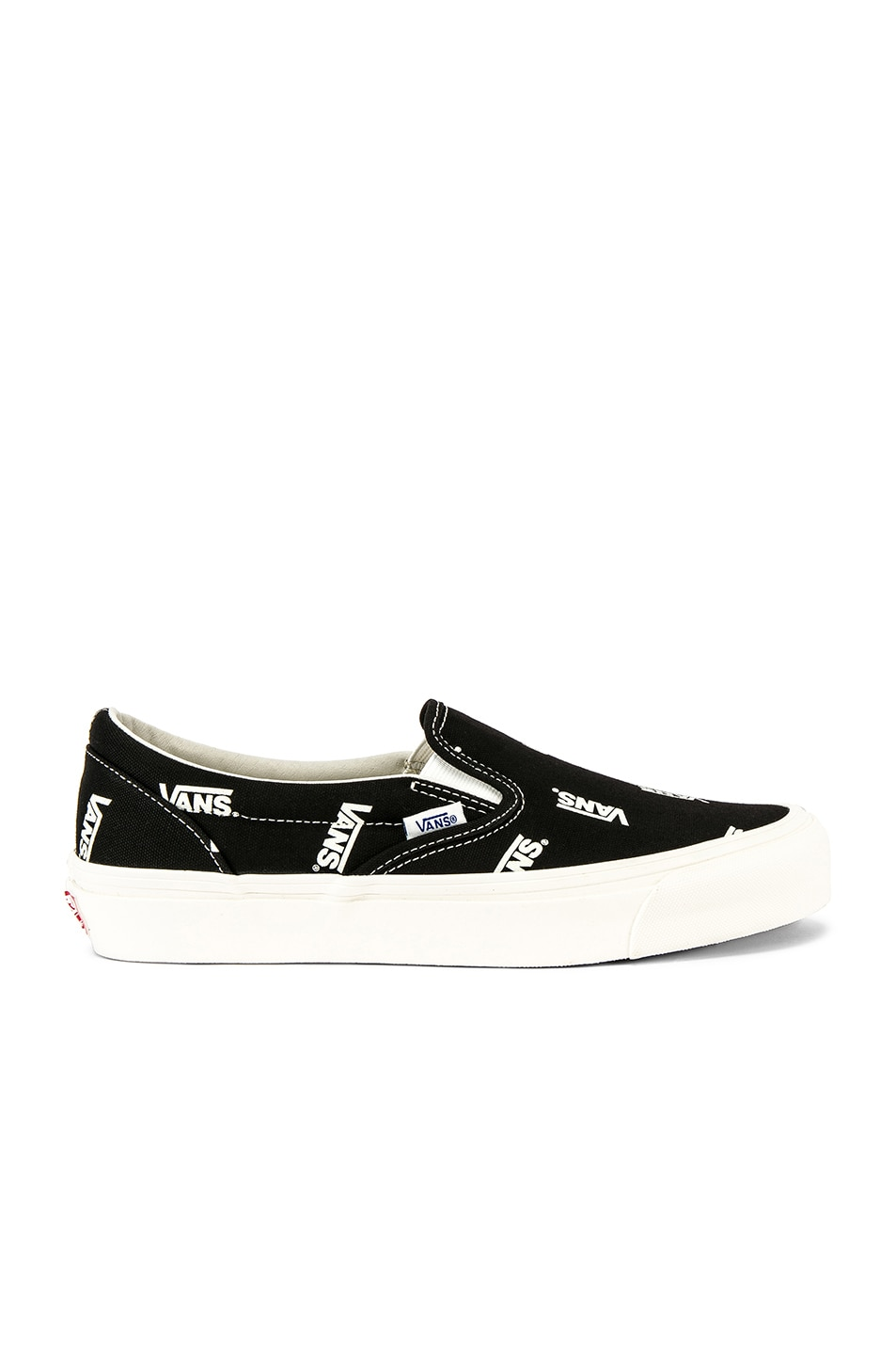 f6a2f26a0c Image 1 of Vans Vault OG Classic Slip-On LX in Black   Marshmallow