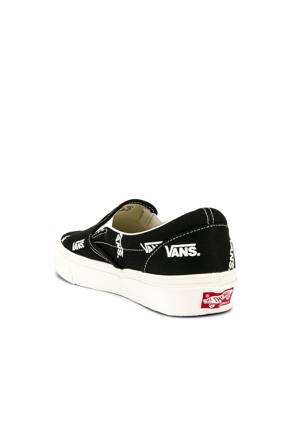 69aaa01157 Image 3 of Vans Vault OG Classic Slip-On LX in Black   Marshmallow
