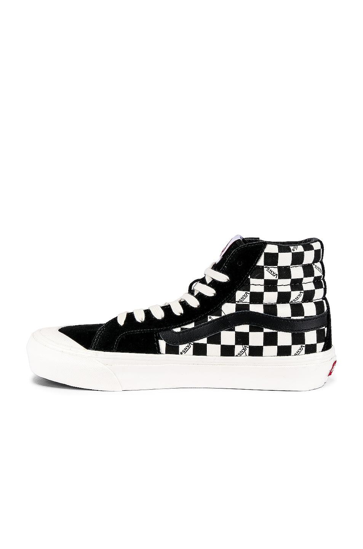 Image 5 of Vans Vault OG Style 138 LX in Black & Checkerboard