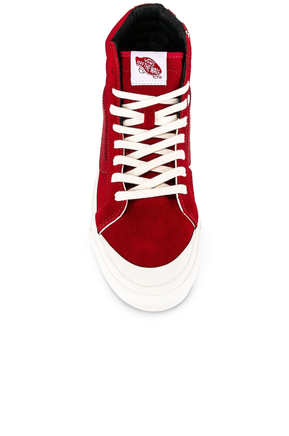 Image 4 of Vans Vault OG Style 138 LX in Racing Red & Checkerboard