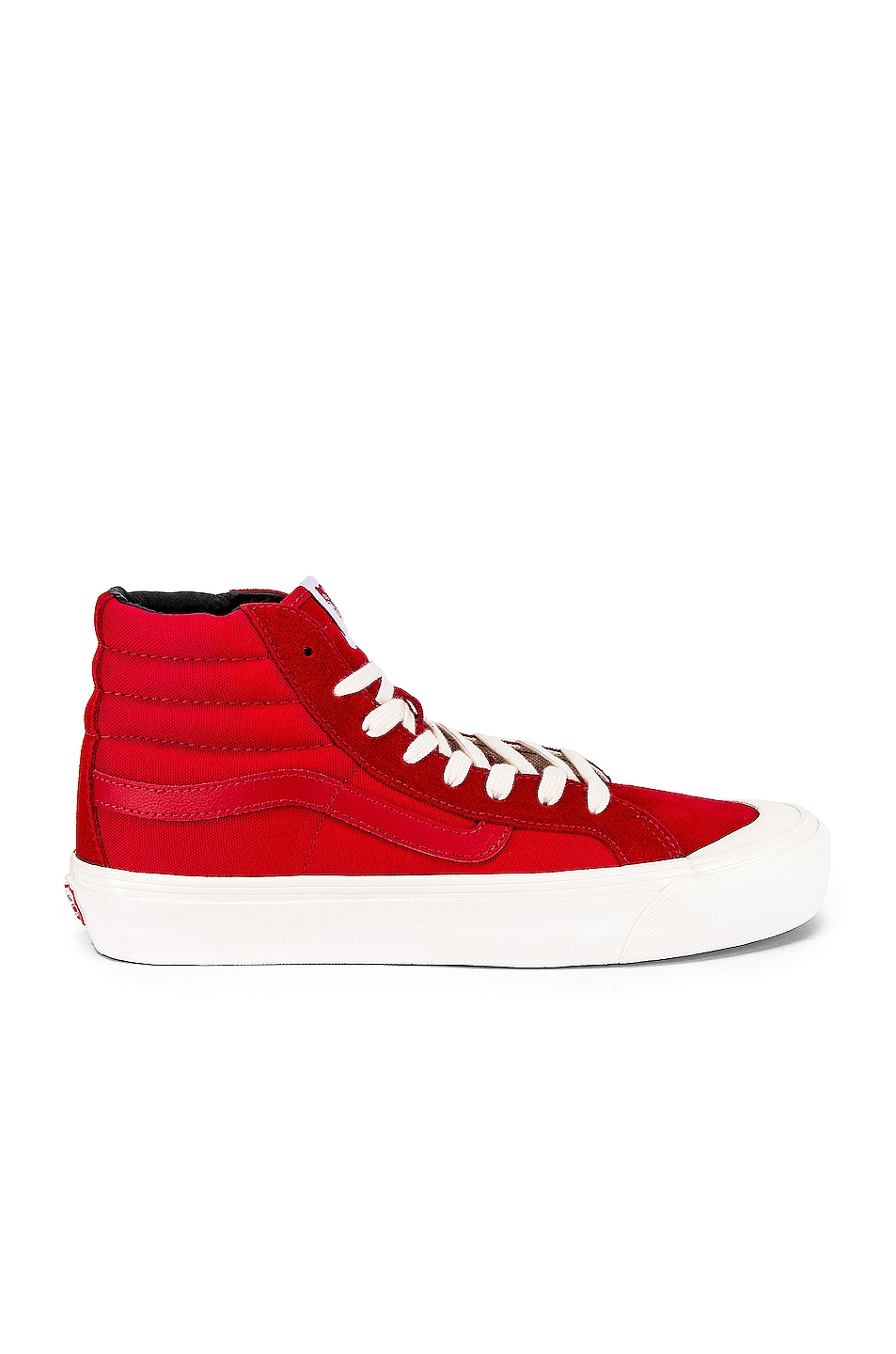 Image 1 of Vans Vault OG Style 138 LX in Racing Red & Checkerboard