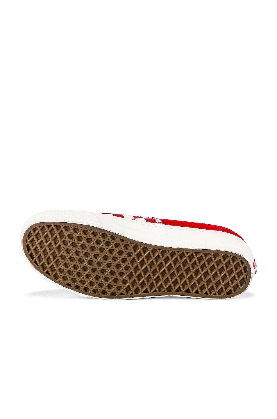Image 6 of Vans Vault OG Authentic LX in Racing Red & Checkerboard