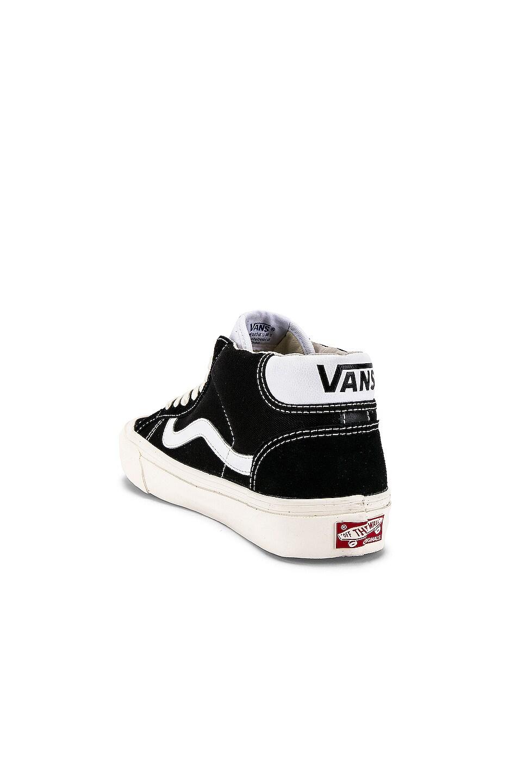Image 3 of Vans Vault OG Mid Skool 37 LX in Black
