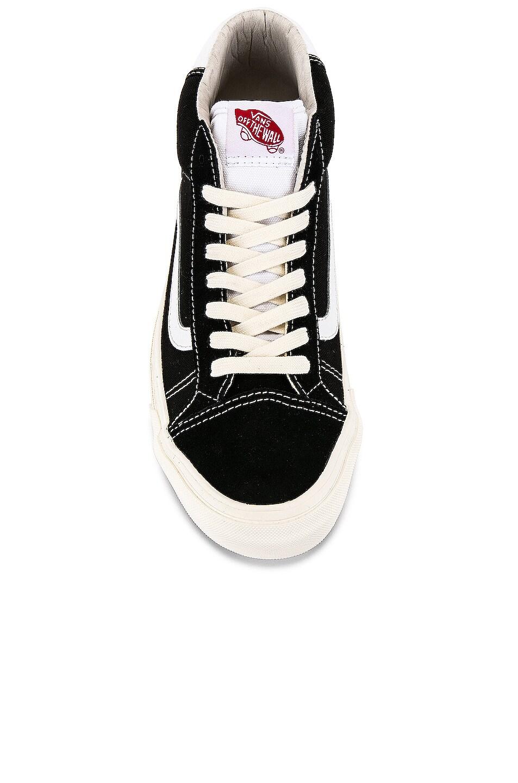 Image 4 of Vans Vault OG Mid Skool 37 LX in Black