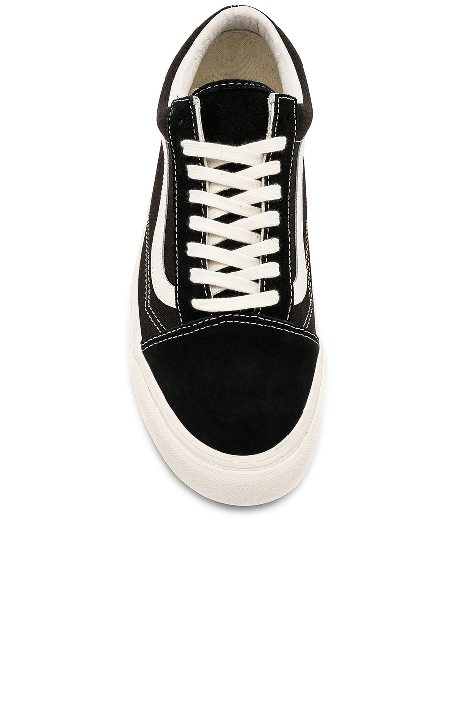 6feb61e7ae Image 4 of Vans Vault OG Old Skool LX in Black   Marshmallow